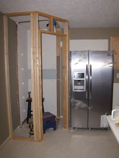He also installed drywall and hung new stock cabinets.
