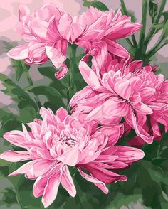 Chrysanthemums Watercolor On Paper 24 X 34 Inches 2015 Karen Sioson Watercolour Painting, Diy Painting, Watercolor Flowers, Painting & Drawing, Watercolors, Botanical Art, Botanical Illustration, Arte Floral, Needlepoint Canvases