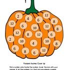 Free! Pumpkin doubles cover game, practice doubles facts to 12 using a fun pumpkin game.