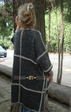 Knit Cardigan Pattern, Crochet Jacket, Crochet Cardigan, Crochet Scarves, Crochet Clothes, Knit Crochet, Angora Sweater, Knit Fashion, Womens Scarves