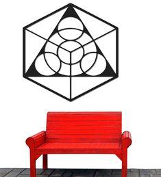 Stencil, Stenciled Table, Stenciling