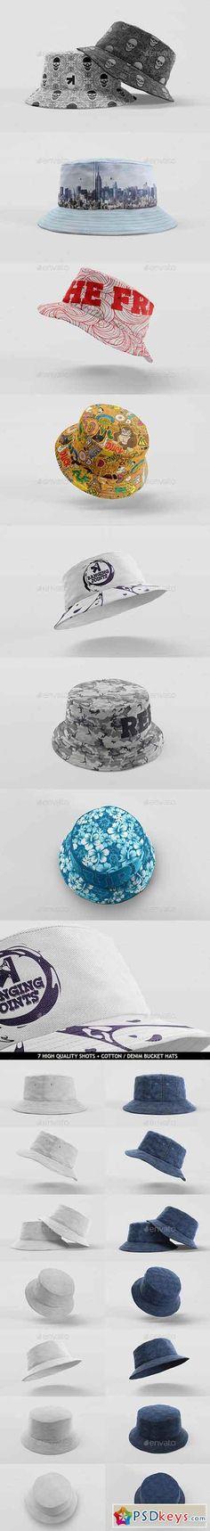 Bucket Hat Mockup Pack 11017413