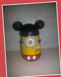 Minion Mickey by Biscuit da Lane