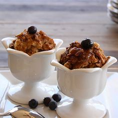The fall season is upon us, and we love nothing more than the aroma of bread pudding, filling the house with hints of cinnamon.