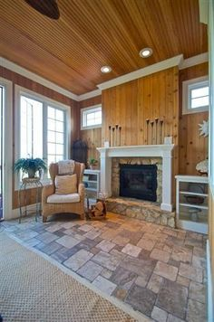 Four Seasons Room Sunroom Ideas, Porch Ideas, House Projects, Art Projects, Four Seasons Room, 4 Season Room, Family Room, Home And Family, Rustic Cabins