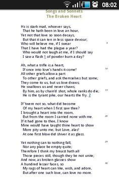 The broken heart by John Donne. Beautiful poem!