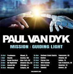 Paul van Dyk Announces Fall Tour of North America - Viralbpm