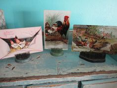 Hey, I found this really awesome Etsy listing at https://www.etsy.com/listing/178624406/beautiful-easter-postcards-chickens-and