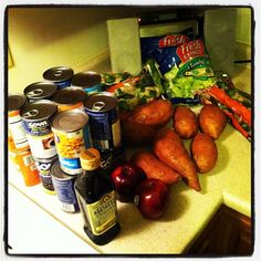My #SNAPchallenge food for the week by Cory Booker, via Flickr