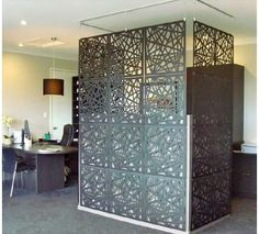 "Polypropylene screen. ""Grid design"" lazer- by howkins.com"