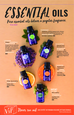 TEA TREE ESSENTIAL SCENTSY OIL Rich, earthy MELALEUCA ALTERNIFOLIA soothes and refreshes. NEW ScentsySpring Summer 2017 Catalog, Available starting March 1, 2017 SKU:…