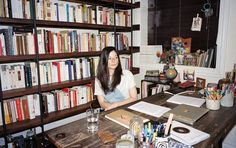 The Rooms Where Writers Work - The New York Times