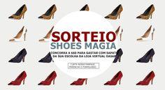 Estou participando do Sorteio Shoes Magia @OASAP no @PONTOKSD e vou ganhar meu par de sapatos favorito! ?