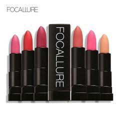 새로운 프로 매트 립스틱 오래 지속 방수 입술 립스틱 nude 립스틱 메이크업 뷰티 입술 focallure 의해