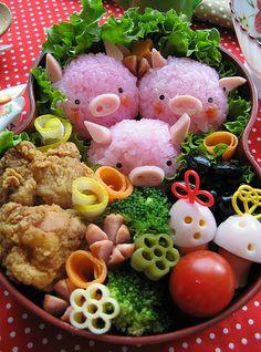 Tuppers creativos a lo japonés!