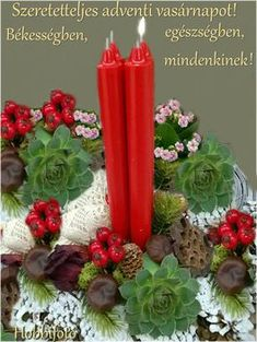Advent, Pillar Candles, Candles