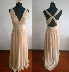 Hey, I found this really awesome Etsy listing at https://www.etsy.com/listing/197388673/cheap-simple-champagne-bridesmaid