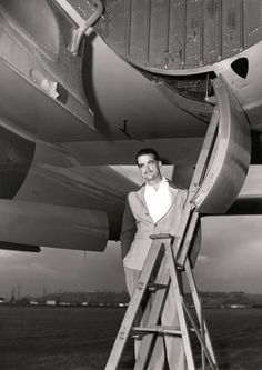 Howard Hughes and his XF-11 - born in Humble, Tx (near Houston) 12-24-1905.  He was an American business mag-nate (Hughest Tool Co.), investor, aviator, aerospace engineer, film-maker, philanthropist and one of the wealthiest men in the world.