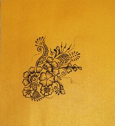 henna pattern...this would be a pretty tattoo