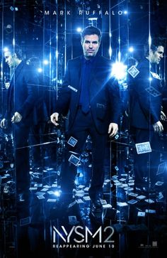 NOW YOU SEE ME 2 (2016): The Four Horsemen resurface for a comeback performance in hopes of exposing the unethical practices of a tech magnate. The man behind their vanishing act is none other than Walter Mabry, a tech prodigy who threatens the Horsemen into pulling off their most impossible heist yet. Their only hope is to perform one last unprecedented stunt to clear their names a reveal the mastermind behind it all.