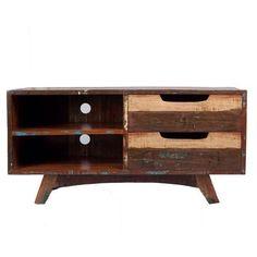 Vintage gerecycled botenhout tv meubel nu 249€ Giga meubel: http://link.marktplaats.nl/882763356