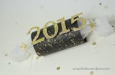 Stampin' UP! - Silvester - New Year - Black and Gold - Party - goodie - Knallbonbon