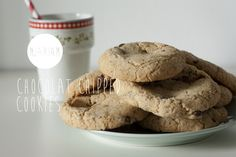 Vegan glutenvrije chocolate chipped cookies
