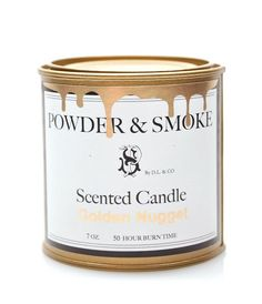 Powder & Smoke / Scented Candle / Golden Nugget