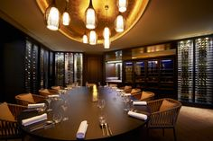 Fontaine's private dining room #restaurant #luxury