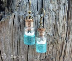 Hey, I found this really awesome Etsy listing at https://www.etsy.com/listing/215736006/tiny-vial-boat-sea-earrings-handmade-sea