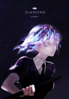 Diamond (Houseki no Kuni) (1024x1468 175 kB.)