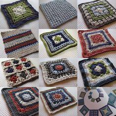 Ravelry: eclecticmoi's 200 Crochet Blocks Sampler Afghan