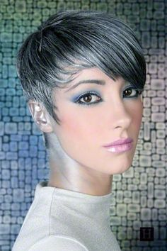 lowlights on grey hair - Google Search