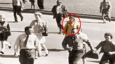10 Mysterious Photos That Cannot Be Explained The Babushka lady is of note.  She doesn't look like the lady who claimed at the investigation Beverley Oliver Massengee