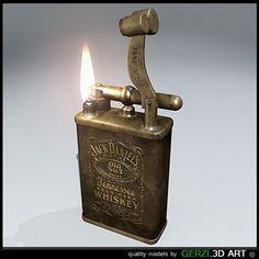 Jack Daniel's Vintage Lighter