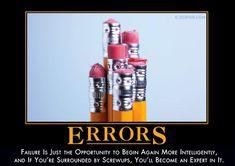 Errors from Despair, Inc.