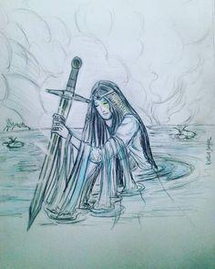 Dama do Lago, Fada Nimue, Senhora de Avalon, Viviane.