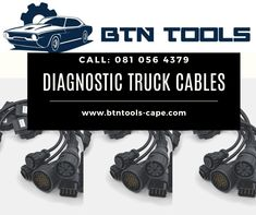 8 Piece Set: Truck Cables  -7 pin Knorr,Wabco Trailer Cable -12 pin MAN Cable -37 pin MAN Cable -IVECO-30P Cable -SCANIA & DAF-16P Cable -MERCEDES BENZ-14P Cable -Renault-12P Cable -VOLVO-8P Cable Volvo, Mercedes Benz, Pin Man, Trucks, Tools, Instruments, Truck
