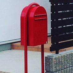 赤いポスト  #Instagram や #roomclip でよく見かける #赤いポスト  人気商品  #ポスト #滋賀新築  #滋賀リフォーム  #滋賀 #滋賀県 #日野町 #ローコスト住宅  #長期優良住宅  #耐震等級3 #自然素材