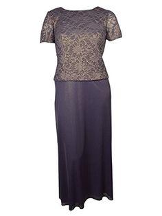 Plus Size Orchid Lace Evening Dress --Size: 14 Color: Purple Alex Evenings http://www.amazon.com/dp/B00OZ2E6Z4/ref=cm_sw_r_pi_dp_BeKHvb0XVA9SC