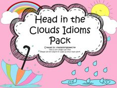 A post on weather and spring time related idioms.  A new pack and 2 new FREEBIES!