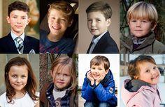 Queen Margrethe 2.´s grand children