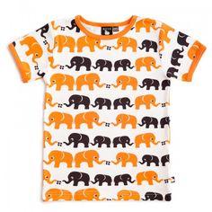 Rockafinn Nosh elephants Tshirt unisex
