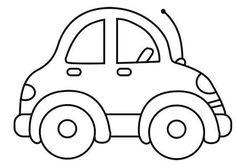 malvorlage auto einfach – Ausmalbilder für kinder