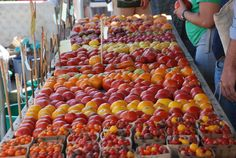 Charlottesville Farmers Market is on Saturdays from 7am to noon downtown http://www.charlottesville.org/index.aspx?page=757 | Photo from KThread blog
