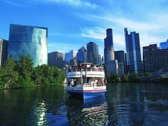 Take in the Chicago skyline on a Shoreline Sightseeing tour. The company has been around since 1939 with guides who narrate interesting facts, background, and tidbits about the Windy City and its buildings. Bonus: Take the evening Fireworks Cruise to get a fantastic view.