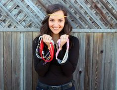 DIY Headbands in Less than 5 Minutes | Brit   Co...I am following this girl