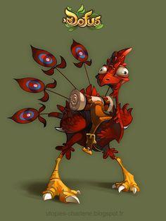 Dofus Feathered Dragoturkey by Catell-Ruz on deviantART