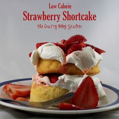 Homemade Strawberry Shortcake is the perfect summertime snack or dessert recipe. Easy to make with only 4 ingredients.