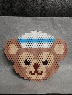 【涵館】手工拼豆-Dinesy Duffy 迪士尼 水手達菲熊-包包掛件